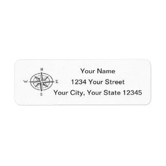 Compass Address Label