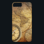 "Compass and Map iPhone 7 Plus, Barely There iPhone 8 Plus/7 Plus Case<br><div class=""desc"">Compass and Map iPhone 6/6s Plus,  Barely There</div>"