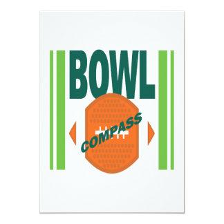 Compass Bowl Card