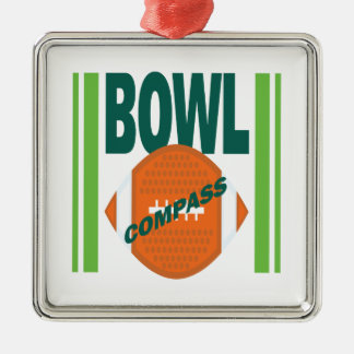 Compass Bowl Christmas Ornaments