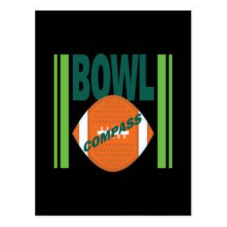 Compass Bowl Postcard