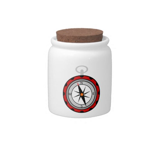 Compass Candy Jars
