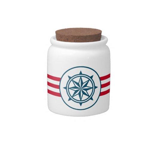 Compass Candy Jar