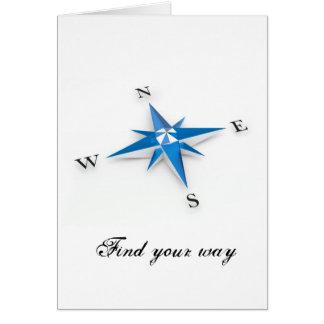 Compass Card