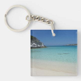 Compass Cay Keychain