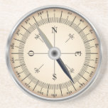 "Compass Design Coaster<br><div class=""desc"">compass design coaster,  would make an ideal gift item</div>"