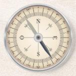 "Compass Design Coaster<br><div class=""desc"">compass design coaster,  would make an ideal gift item</div>"