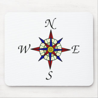 Compass Dial Mouse Pad