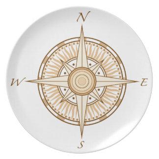 Compass Dinner Plate