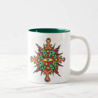 Compass Eye Mandala Mug