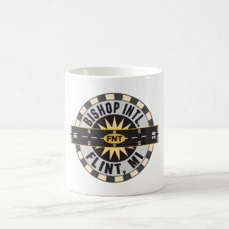 Compass - Flint- MI Bishop Intl. Airport FNT Coffee Mug