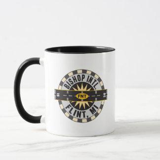 Compass - Flint- MI Bishop Intl. Airport FNT Mug
