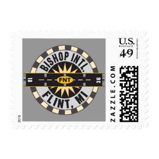 Compass - Flint- MI Bishop Intl. Airport FNT Postage