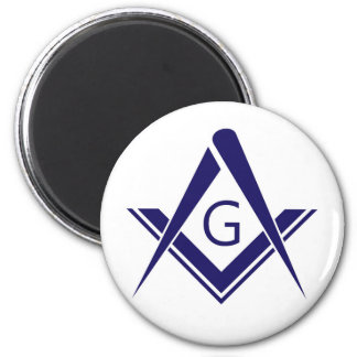 compass freemason guild mason organization sign sy magnet