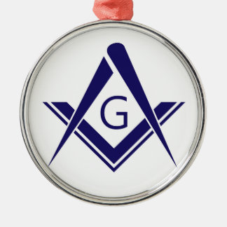compass freemason guild mason organization sign sy metal ornament