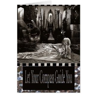 Compass Guide Customizable Card