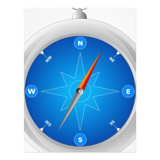 Compass Letterhead
