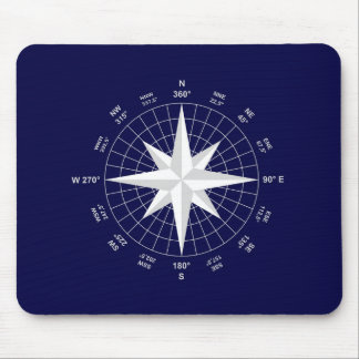 compass mouse pad