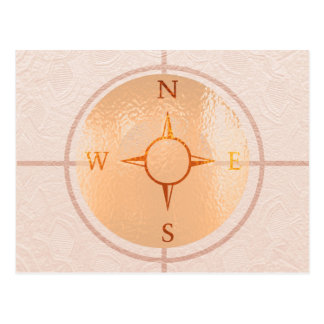 COMPASS NEWS North East West South Post Card