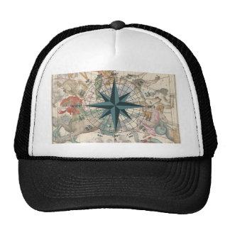 Compass on an Ancient Map Trucker Hat