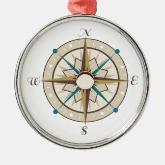 Compass Christmas Ornaments