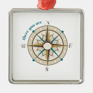 Compass Christmas Tree Ornament
