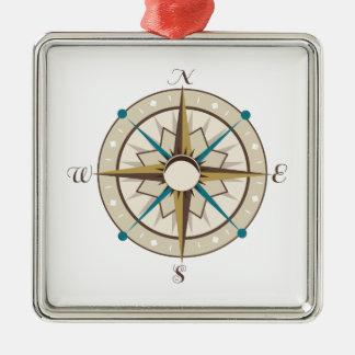 Compass Christmas Ornament
