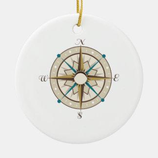 Compass Ornaments
