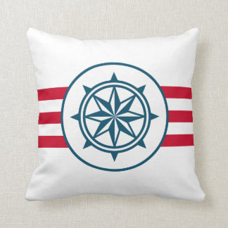 Compass Throw Pillows