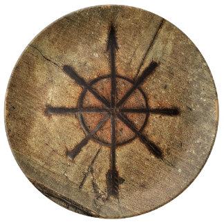 compass plate