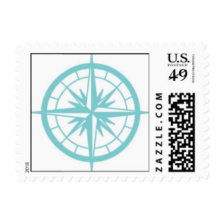{Compass} Postage Stamp