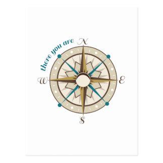 Compass Postcard