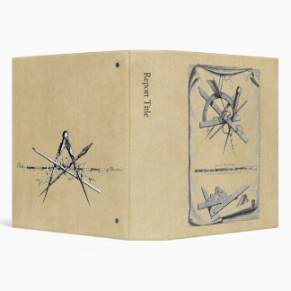 Compass, Right Angle and Scale Binder