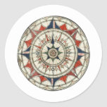 Compass Rose #5 Stickers