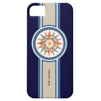 compass rose - add name iPhone SE/5/5s case