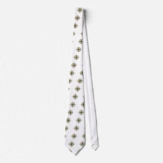 Compass Rose Art Neck Tie