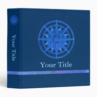 Compass Rose 3 Ring Binders