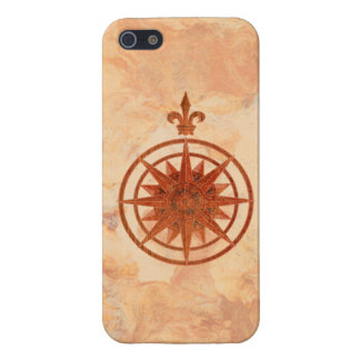 Compass Rose Case For iPhone SE/5/5s