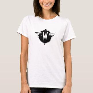 Compass Rose Changeable Text T Shirt