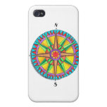 Compass Rose Covers For iPhone 4