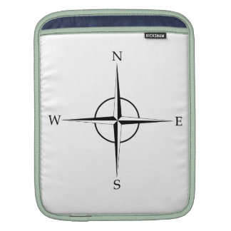 Compass Rose Sleeve For iPads