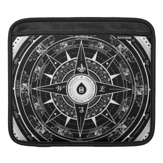 Compass Rose - Ipad Sleeve (Black)
