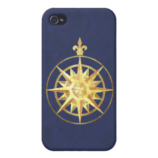 Compass Rose iPhone 4/4S Cases