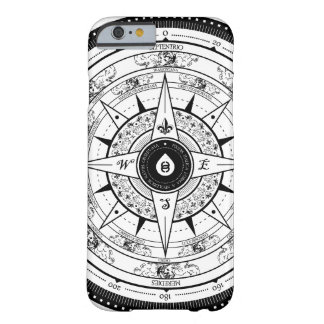 Compass Rose - iPhone 6 case (White)