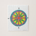 Compass Rose Jigsaw Puzzle