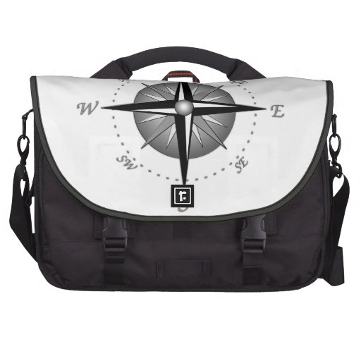 Compass Rose Bag For Laptop