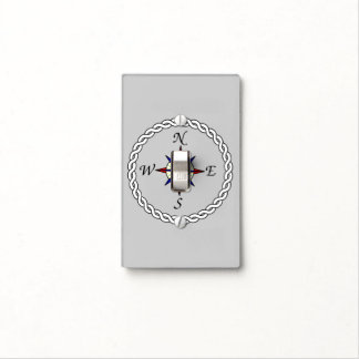 Compass Rose Light Switch Cover