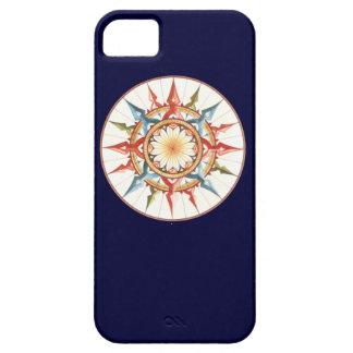 compass rose - mandala iPhone SE/5/5s case
