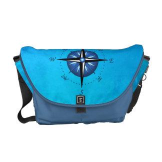 Compass Rose Messenger Bag