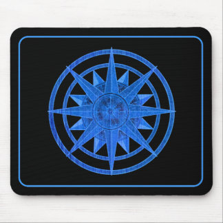 Compass Rose Mouse Pad